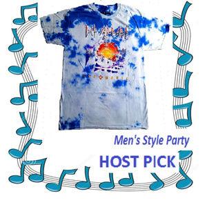 Def Leppard Pyromania Tie Dye T-shirt M L XL NWT